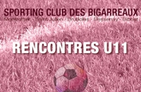 Rencontre U11 ce week-end le 29/10/2016